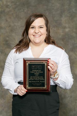 Amy Fanous Pharmacist Public Relations Award