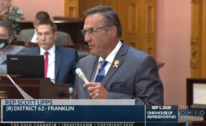 Rep. Scott Lipps speaks in favor of HB 203