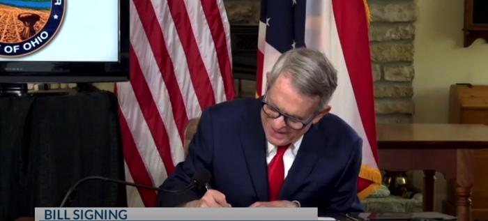 Governor DeWine signed legislation