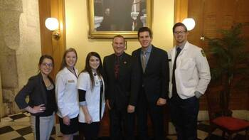 Representative Tim Brown At Student Legislative Day