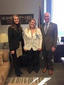Representative Tim Ginter At Student Legislative Day