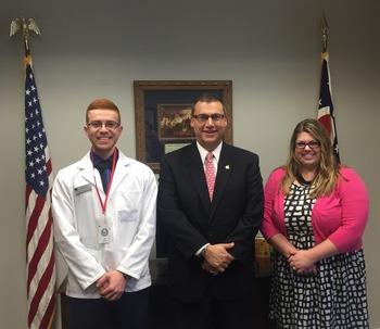 UT student pharmacist Representative Ron Hood R- Ashville & OPA Board Trustee