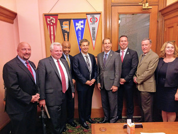 Senator Dolan meets with Ohio pharmacy school deans