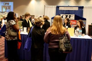 2009 OPA Trade Show - OPF Booth