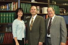Ohio Senator Dave Burke, R.Ph. (center)