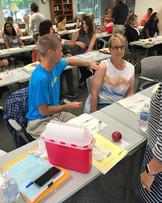 June 2012 Immunization Training Program - Injection Training
