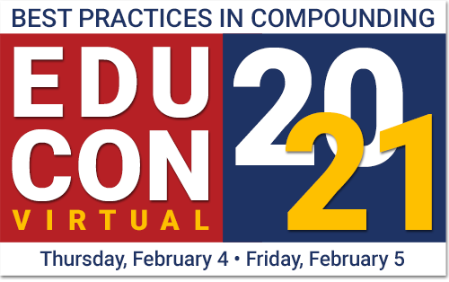 EduConVirtual 2021: Best Practices in Compounding